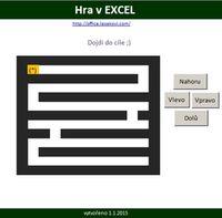 Hra v Microsoft Excel