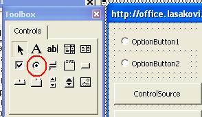 OptionButton (Přepínač) ve formuláři VBA | Školení konzultace