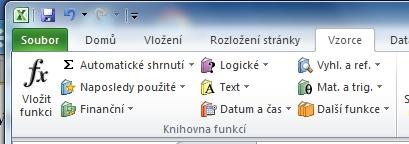 Excel 2010 - krok za krokem