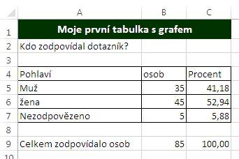 MS Excel 2013 - vzorce
