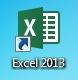 MS Excel 2013 - ikona spuštění