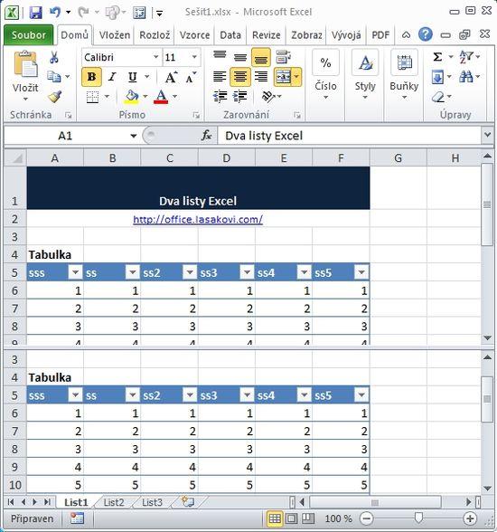 Prace S Listy V Ms Excel Skoleni Konzultace